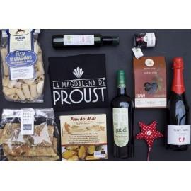Cesta Regalo Navidad Gourmet Eco-chic