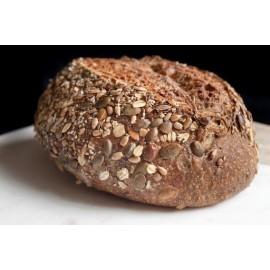 Pan en Hogaza  Integal Multisemillas » 500 g aprox.