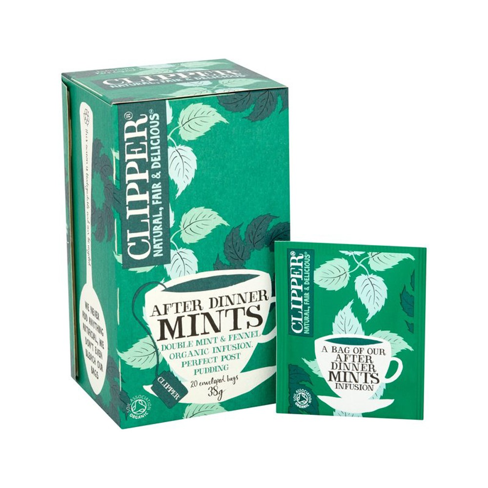 Clipper dinner mints