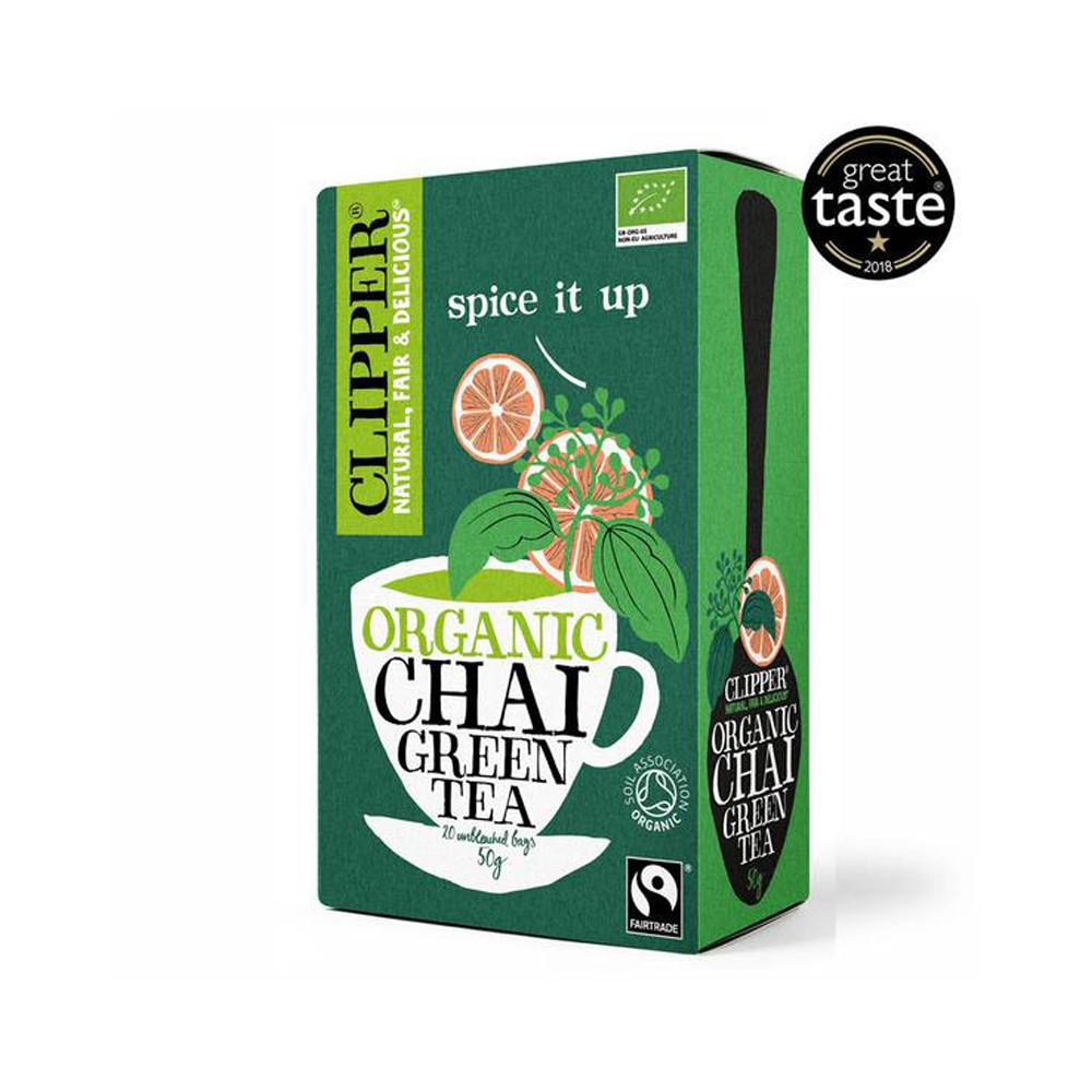 Clipper chai verde
