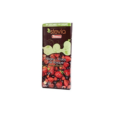 Chocolate Negro con Frutos Rojos » 100 g