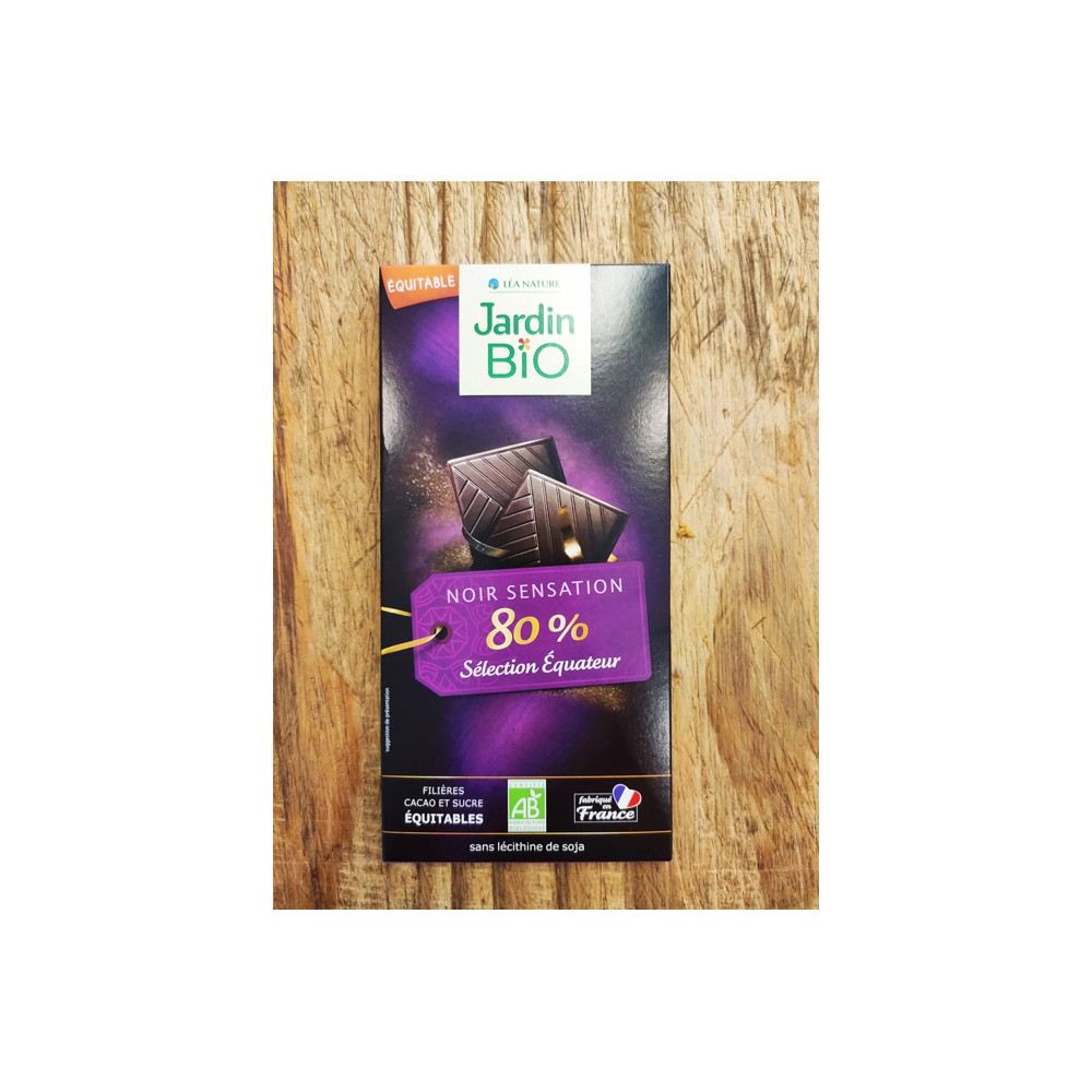 JARDIN BIO CHOCOLATE 80%
