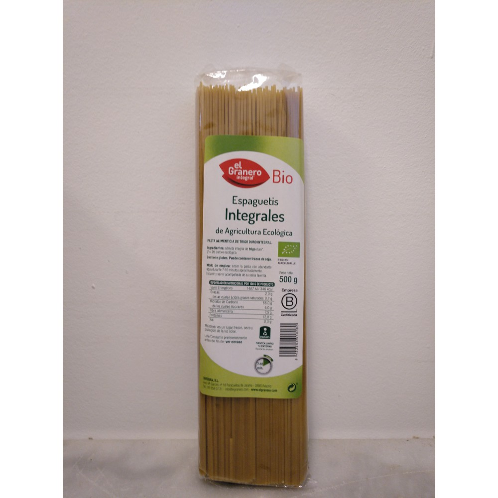 Espagueti integral  » 500 g