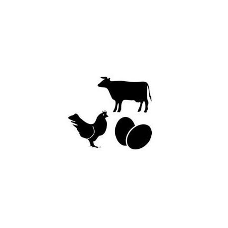 Pack Carne Pollo Huevos S » 3 Kg Carnes y Huevos