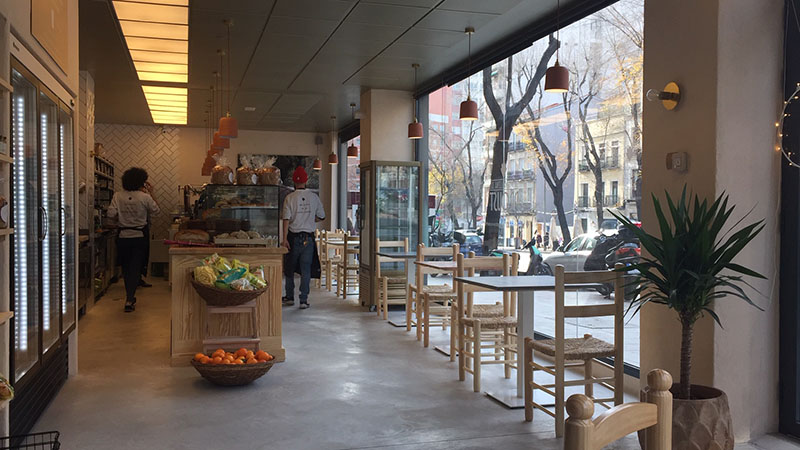 cafeteria BRAVO MURILLO 54 MADRID LAMAGDALENADEPROUST